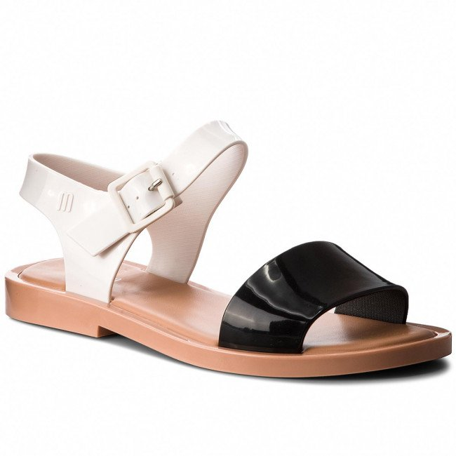 Sandále MELISSA - Mar Sandal Ad 32337 Black/White/Brown 52909