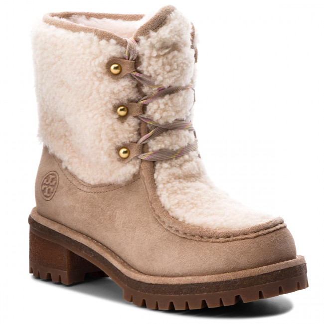 Outdoorová obuv TORY BURCH - Meadow Boot 49197 Perfect Sand/Natural 256