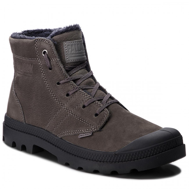Outdoorová obuv PALLADIUM - Pallabrousse Lth S 05981-064-M Dk Gull Gray/Anthracite