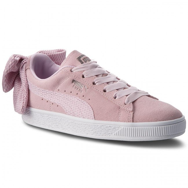 Sneakersy PUMA - Suede Bow Uprising Wn's 367455 03 Winsome Orchid/Puma White