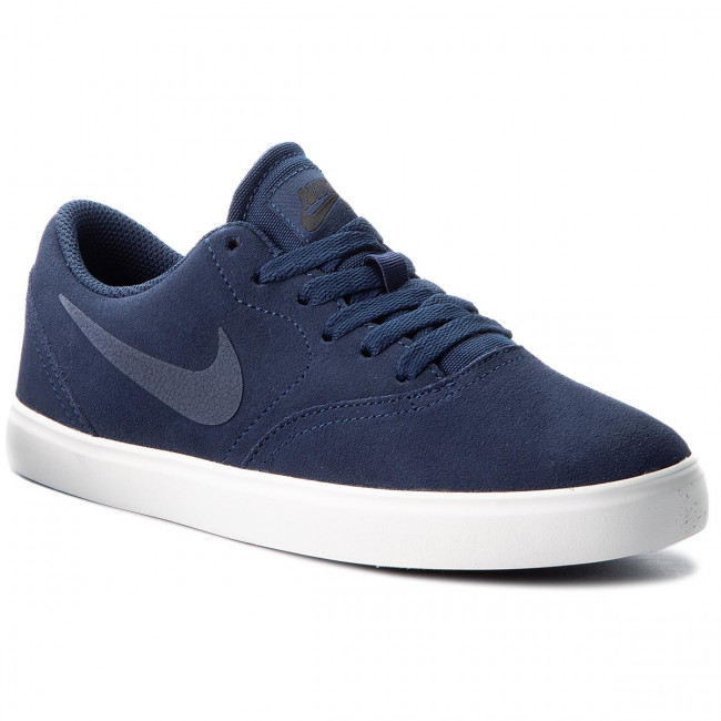 Topánky NIKE - Sb Check Suede (GS) AR0132 400 Midnight Navy/Midnight Navy