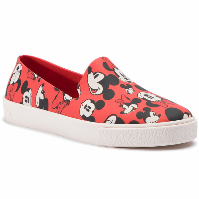 Lordsy MELISSA - Ground + Mickey Ad 32533 Red/White/Black 53462