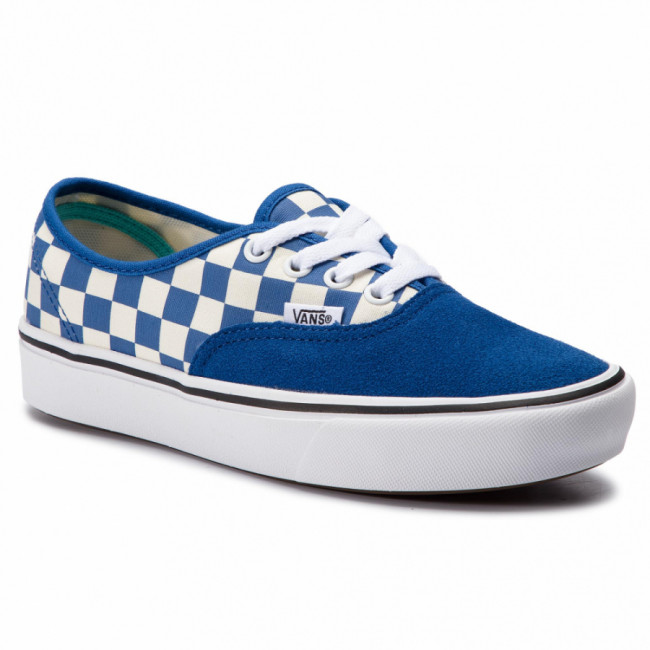 Tenisky VANS - Comfycush Authent VN0A3WM7VNA1 (Checker) Lapis Blue/True