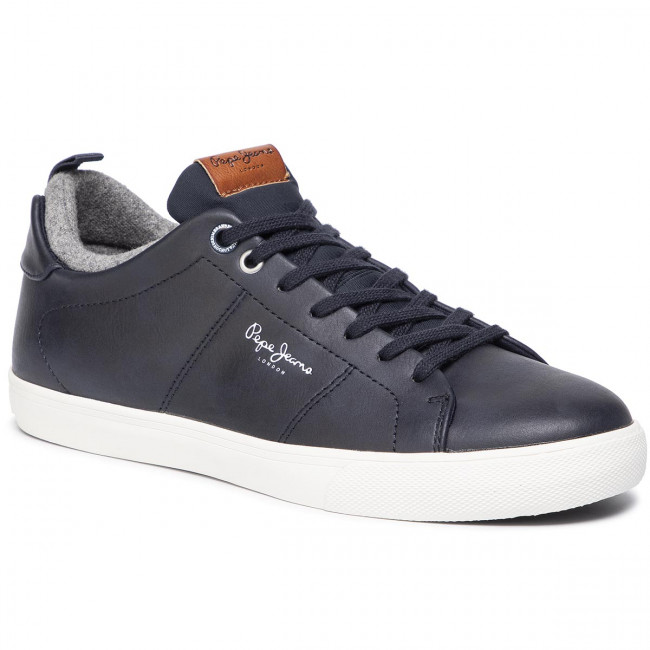 Sneakersy PEPE JEANS - Marton Basic PMS30501 Navy 595