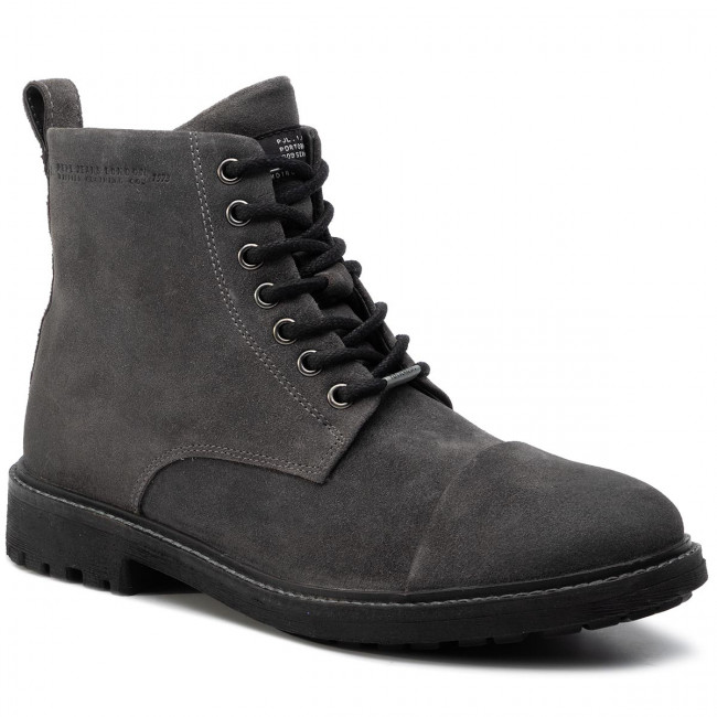 Outdoorová obuv PEPE JEANS - Porter Boot Suede PMS50180 Dark Grey 975
