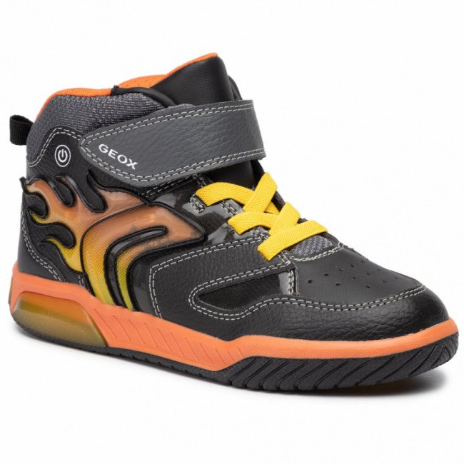 Sneakersy GEOX - J Inek B. C J949CC 0BU11 C0749 D Black/Orange