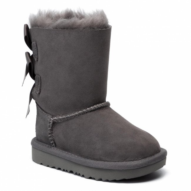 Topánky UGG - T Bailey Bow II 1017394T Grey