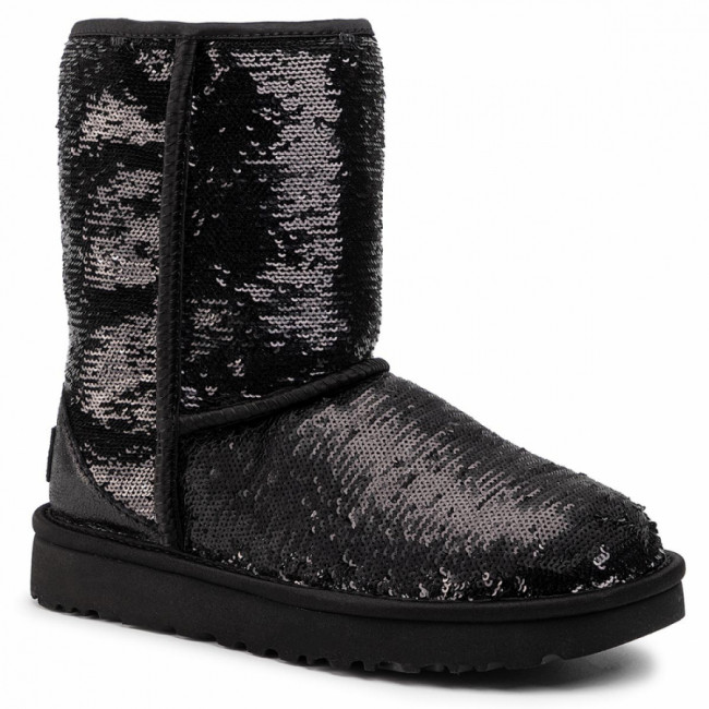 Topánky UGG - W Classic Short Cosmos Sequin 1103796  Bkgm