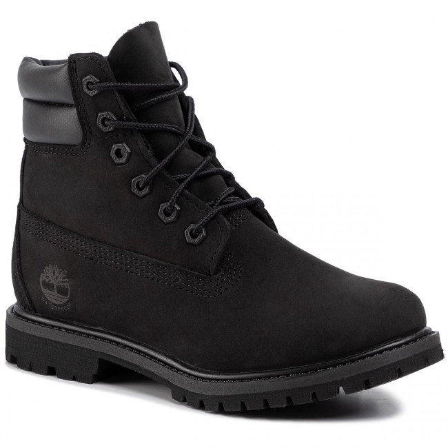 Outdoorová obuv TIMBERLAND - Waterville 6 In Waterproof Boot TB0A15QY0011 Black Nubuck