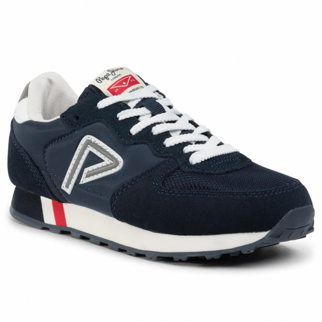 Sneakersy PEPE JEANS - Klein Junior PBS30423 Navy 595
