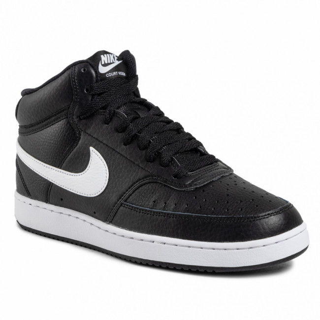 Topánky NIKE - Court Vision Mid CD5466 001 Black/White