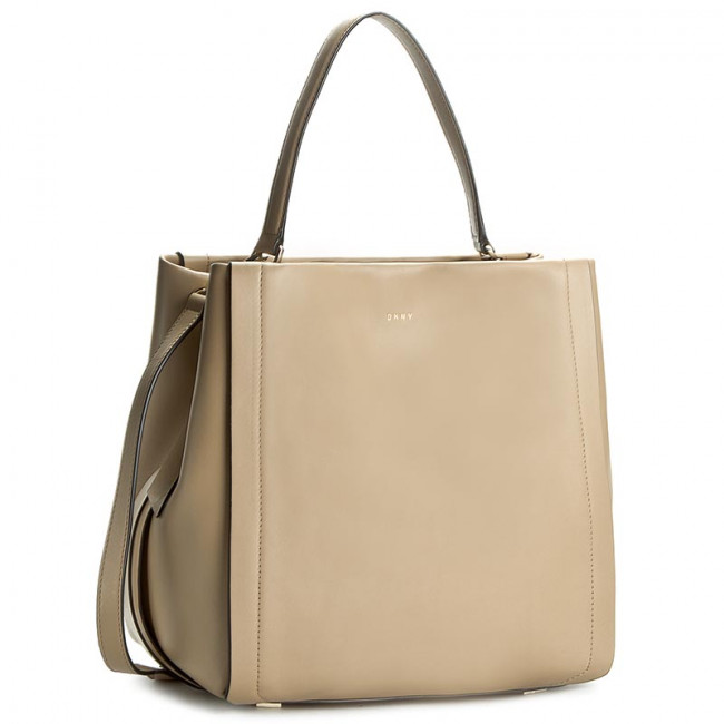 Kabelka DKNY - Smooth Leather Bucket R361600701 Natural 104