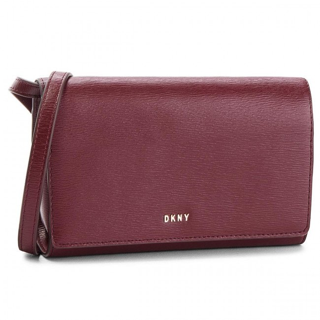 Kabelka DKNY - Bryant Wallet On A String R8353622 Blood Red XOD
