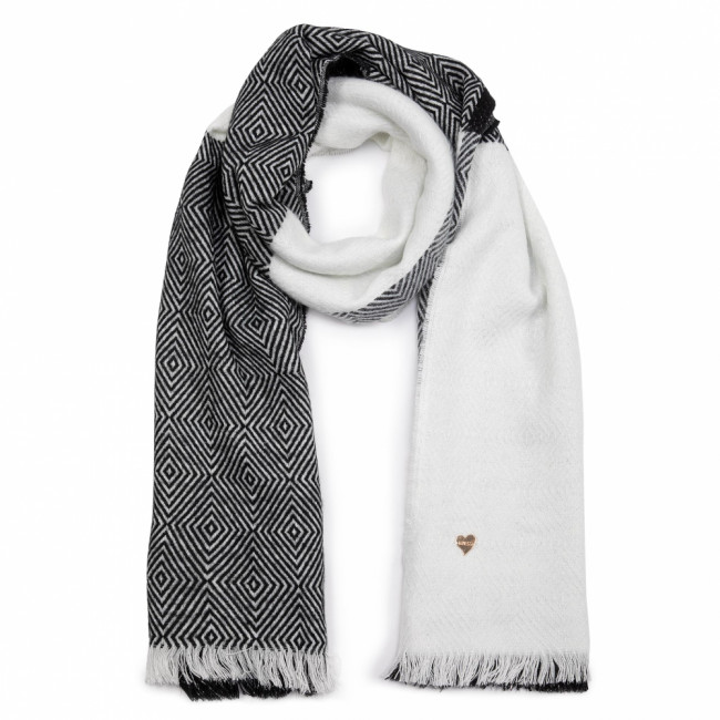 Šál GUESS - Not Coordinated Scarves AW8281 WOL03 BLA