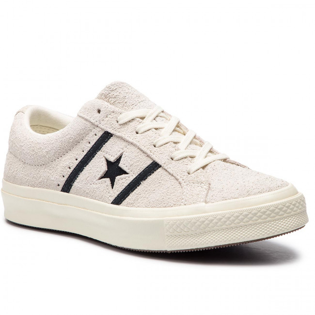 Sneakersy CONVERSE - One Star Academy Ox 163269C Egret/Black/Egret