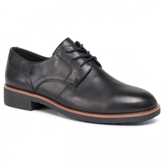 Poltopánky CLARKS - Griffin Lane 261431134 Black Leather