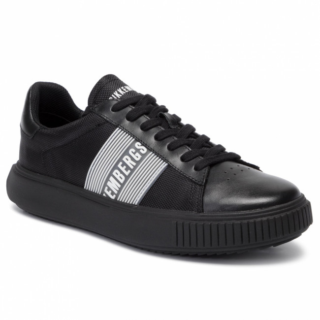 Sneakersy BIKKEMBERGS - Low Top Lace Up B4BKM0027 Black