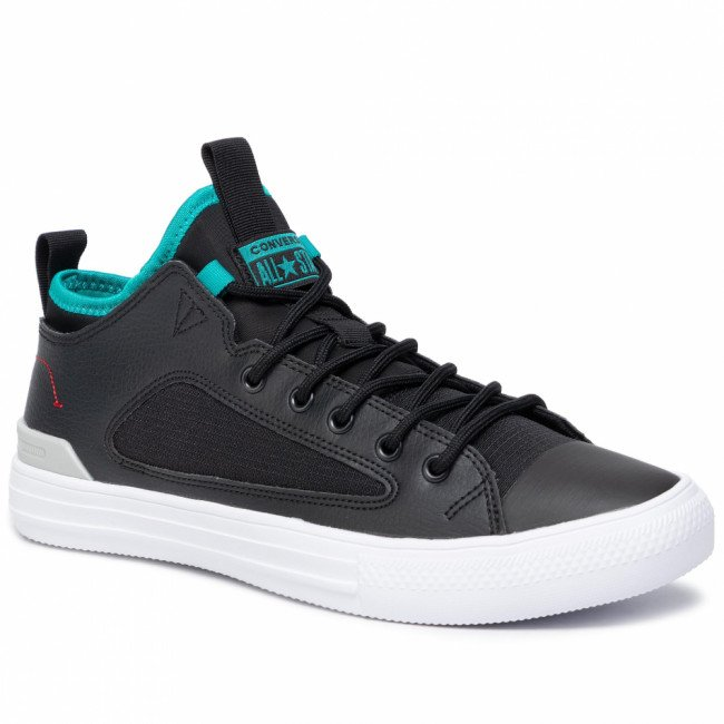 Sneakersy CONVERSE - Ctas Ultra Ox 165343C Black/White/Turbo Green