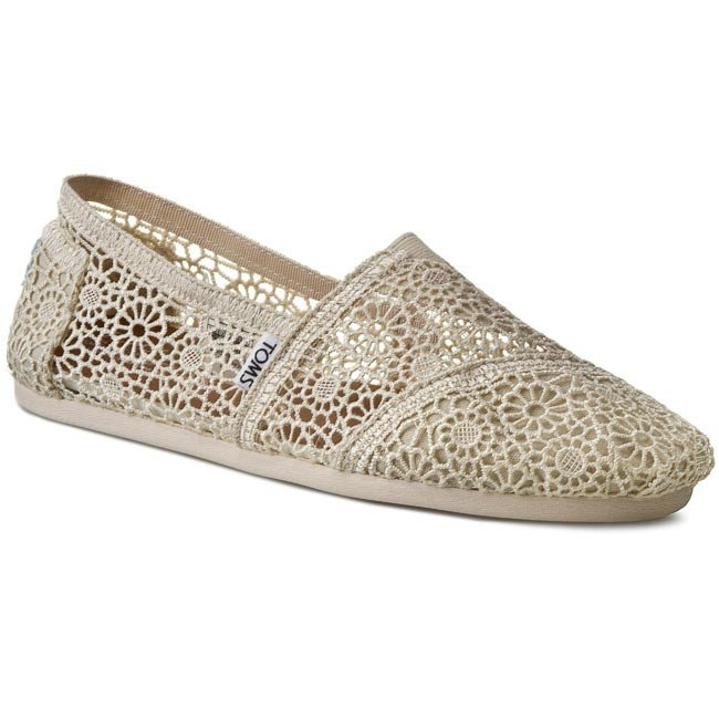 Poltopánky TOMS - Classic 10007858 Natural Moroccan