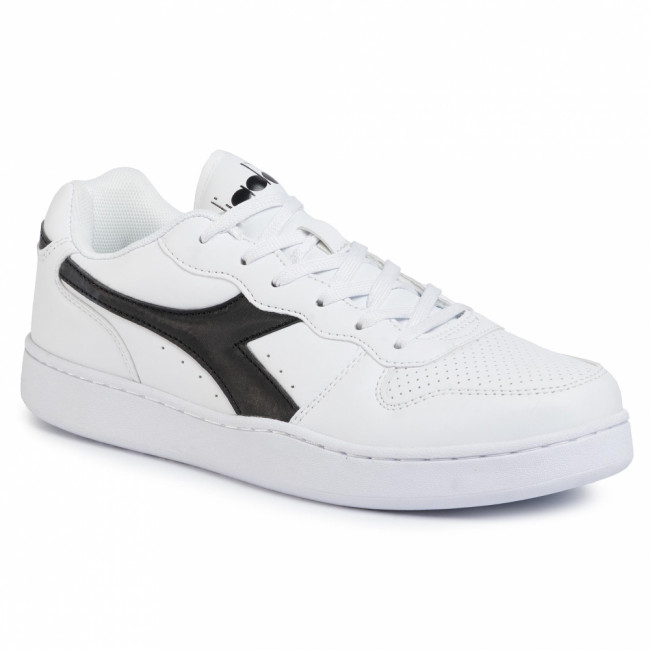 Sneakersy DIADORA - Play Ground 101.172319-C1880 White/White/Black