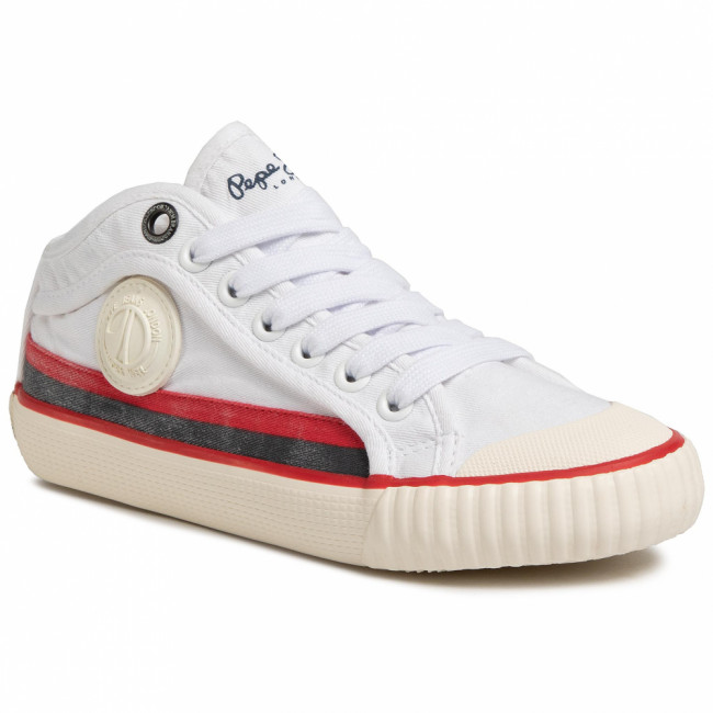 Tenisky PEPE JEANS - Industry Surf PBS30426 White 800