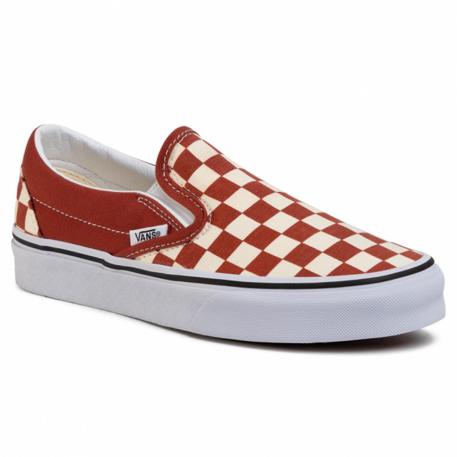 Tenisky VANS - Classic Slip-On VN0A4U38WS21 (Checkerboard) Picnt/Trwht