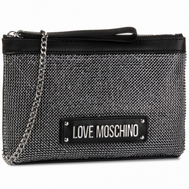 Kabelka LOVE MOSCHINO - JC4050PP1ALH100A Nero/Crystal Nero