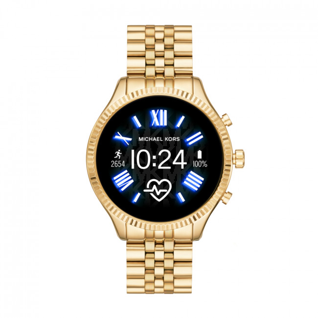 Smart hodinky MICHAEL KORS - Lexington MKT5078 Gold/Gold