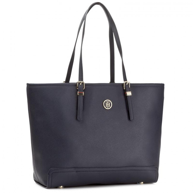 Kabelka TOMMY HILFIGER - Honey Ew Tote AW0AW04548 413