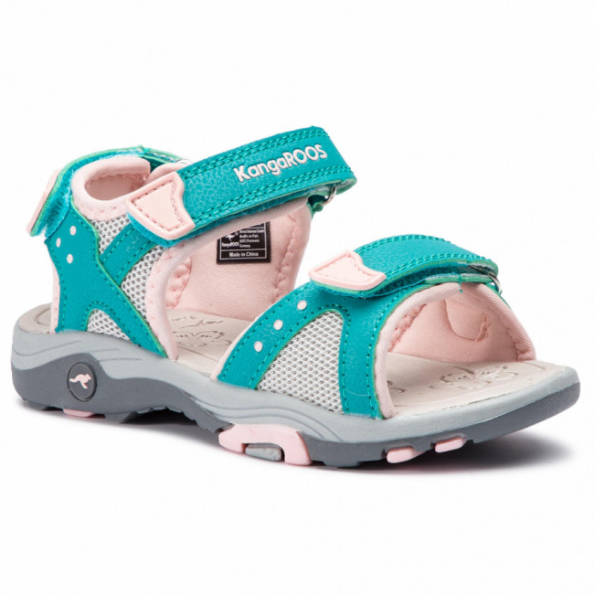 Sandále KANGAROOS - K-Belle 18333 000 4402 Turquoise/English Rose