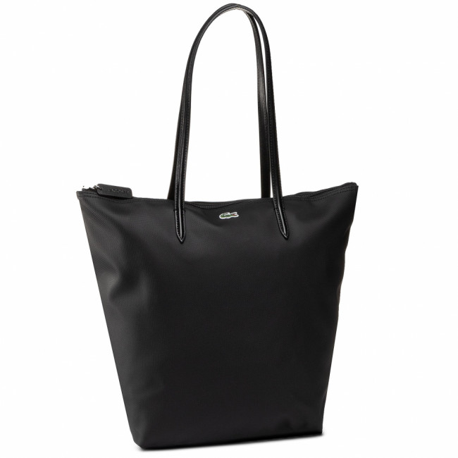 Kabelka LACOSTE - Vertical Shopping Bag NF1890PO  Black 000