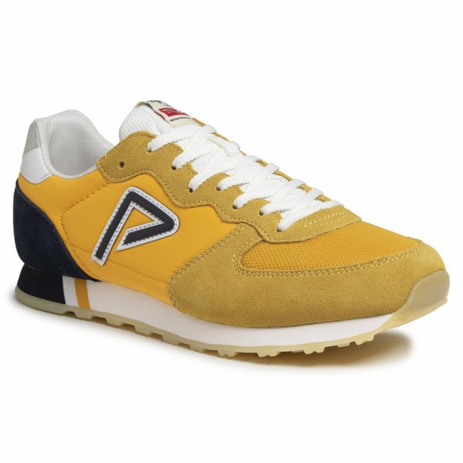 Sneakersy PEPE JEANS - Klein Archive Summe PMS0610  Ochre Yellow 097