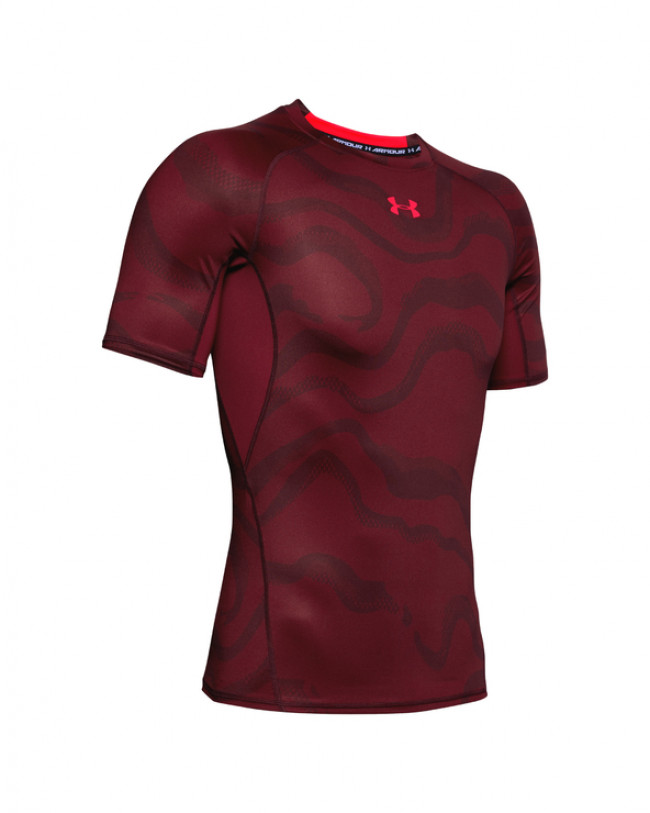 Under Armour HeatGear® Tričko Červená