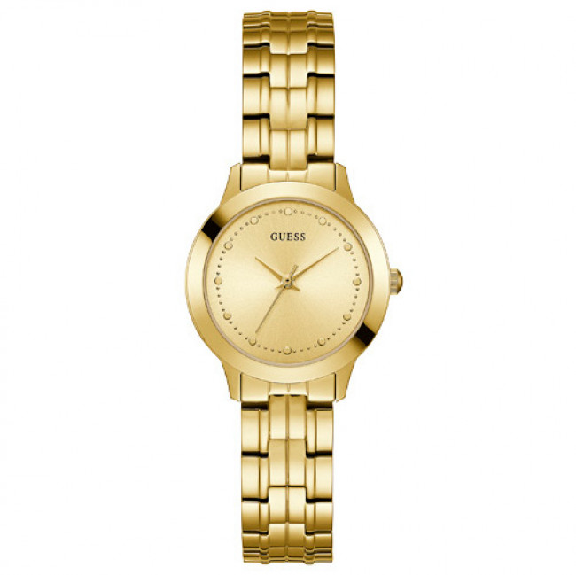 Hodinky GUESS - Chelsea W0989L2 GOLD TONE/GOLD TONE