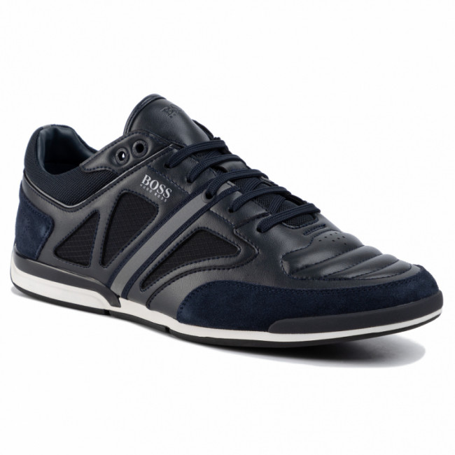 Sneakersy BOSS - Saturn 50422397 10214531 01 Dark Blue 401