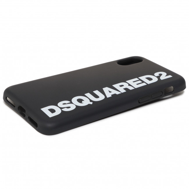 Puzdro na telefón DSQUARED2 - iPhone Covers ITM0038 55000001 M063 Nero/Bianco