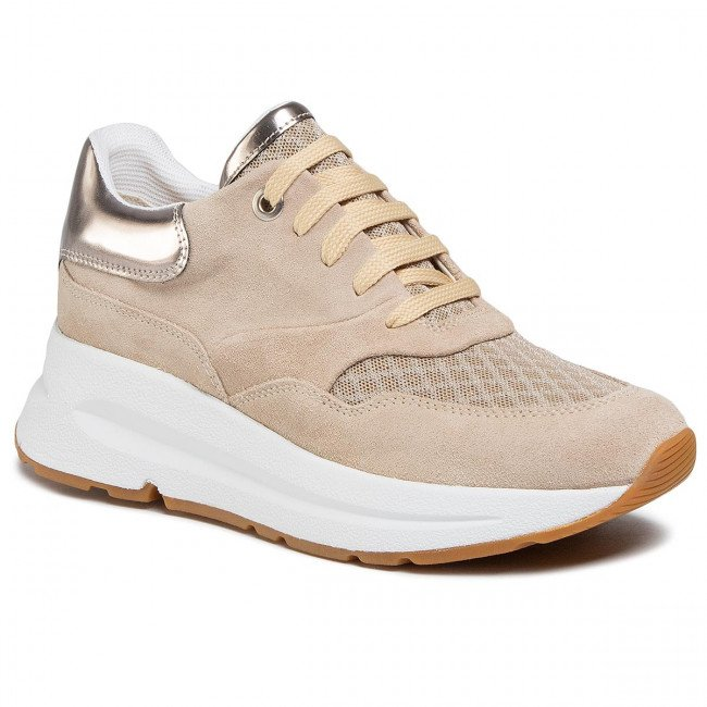 Sneakersy GEOX - D Backsie C D02FLC 022GN C6738 Lt Taupe