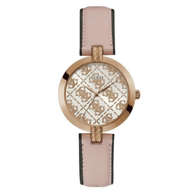 Hodinky GUESS - Luxe GW0027L2 PINK/ROSE GOLD