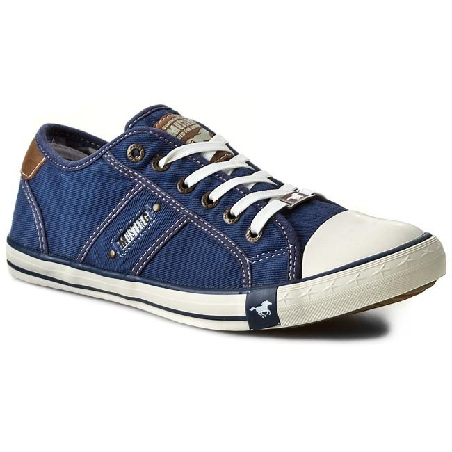 Tramky MUSTANG - 36A034  Jeansblau