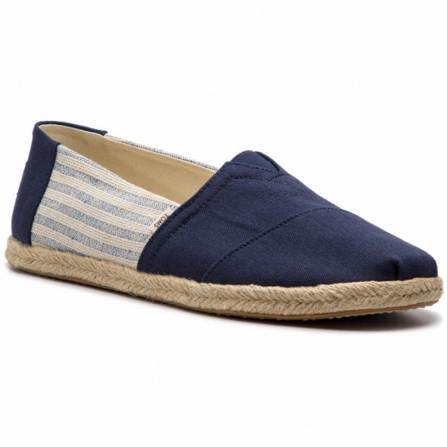 Espadrilky TOMS - Classic 10013553 Navy Ivy League