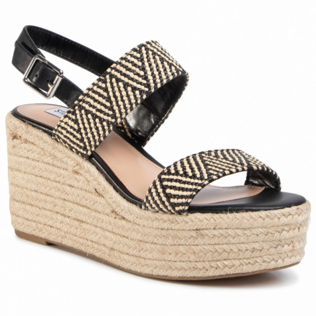 Espadrilky STEVE MADDEN - Focused SM11000978-02002-054 Blk/Tan
