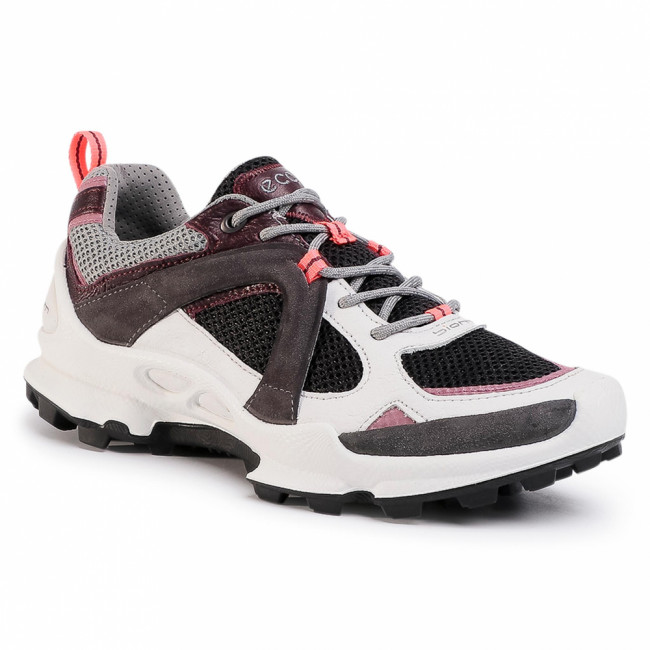 Trekingová obuv ECCO - Biom C-Trail W Low 80310351833 Shadow White/Wine/Black