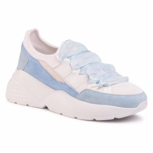 Sneakersy CYCLEUR DE LUXE - Mulan CDLW201611 White/Denim/Light Blue