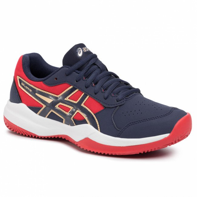 Topánky ASICS - Gel-Game 7 Clay/Oc Gs 1044A010 Peacoat/Peacoat 400