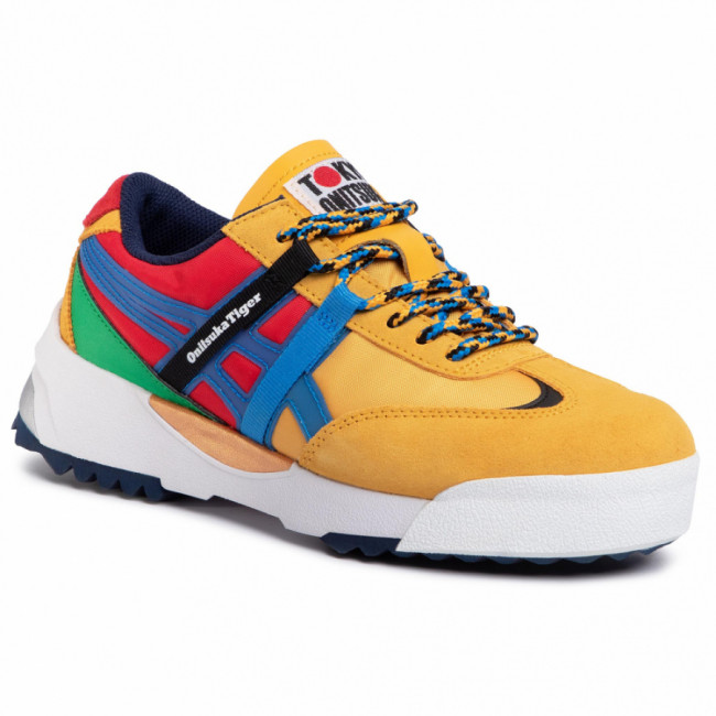 Sneakersy ONITSUKA TIGER - Delegation Ex 1183A604 Tiger Yellow/Electric Blue 750