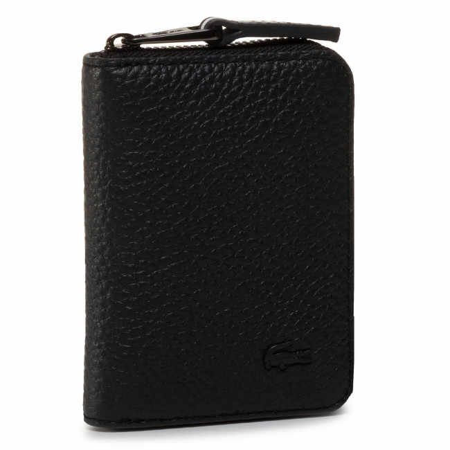 Malá Dámska Peňaženka LACOSTE - S Zip Around Wallet NH3006NO Phantom Dark Sapphire C54