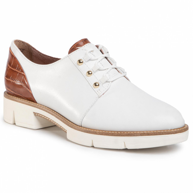 Poltopánky TAMARIS - 1-23753-24 White/Cuoio 147