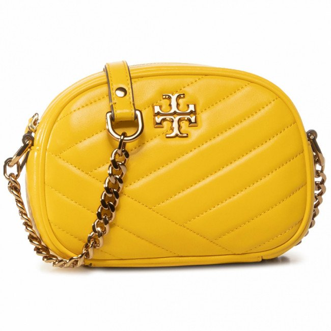 Kabelka TORY BURCH - Kira Chevron Camera Bag 60227 Limone 706
