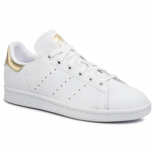 Topánky adidas - Stan Smith EE8836 Ftwwht/Ftwwht/Goldmt