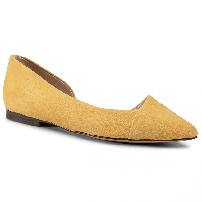Baleríny CAPRICE - 9-24203-24 Yellow Suede 641